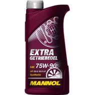Масло трансм. MANNOL EXTRA GL-4, GL-5 75w90 1 л синт разлив