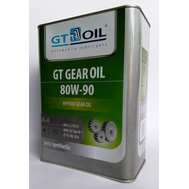 Масло трансмисс. GT OIL 80W90 GL-5 4л п/с