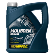 Масло Mannol Molibden Benzin 10W40 4 л п/с