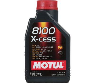 Масло MOTUL X-cess 5W40 синт. 1л.
