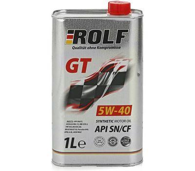 Масло ROLF 5 w40 1 л синт.
