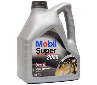Масло MOBIL Super 2000 10w40 4л. п/с