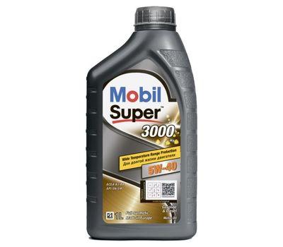 Масло MOBIL Super 3000 5w40 1л синт разлив