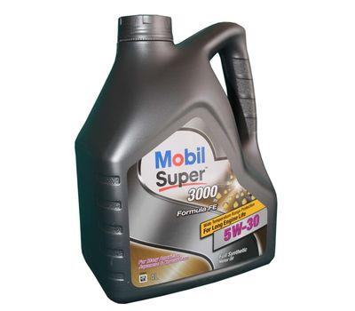 Масло MOBIL Super 3000 5w30 4л синт