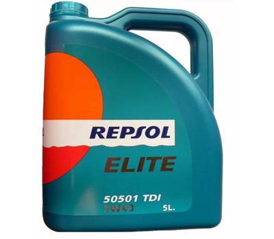 Масло Repsol Elite 15w40 5л дизель.